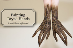 Painting Dryad Hands