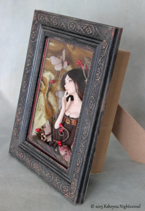 The Lady AshwynAshwyn Shadow Box