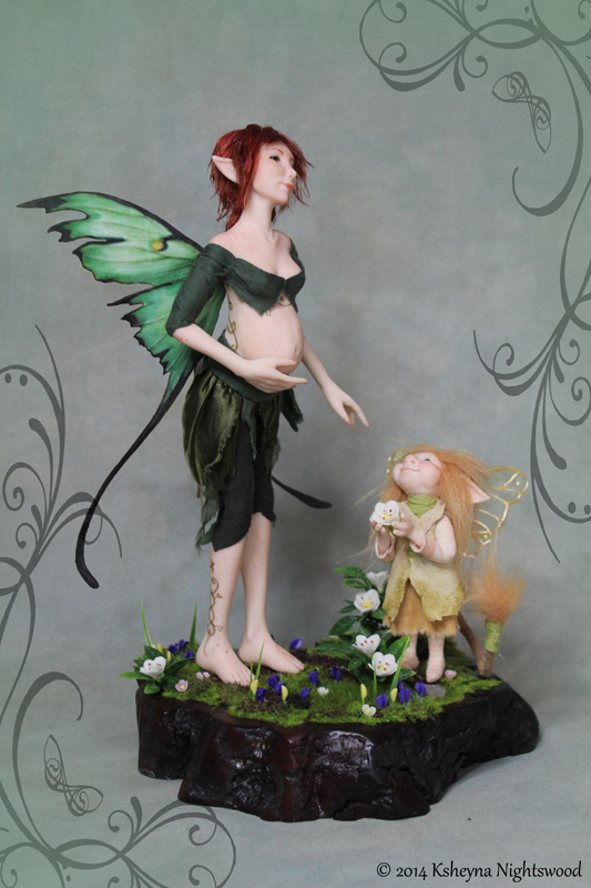 The Fairy Princess of the Brown Forrest