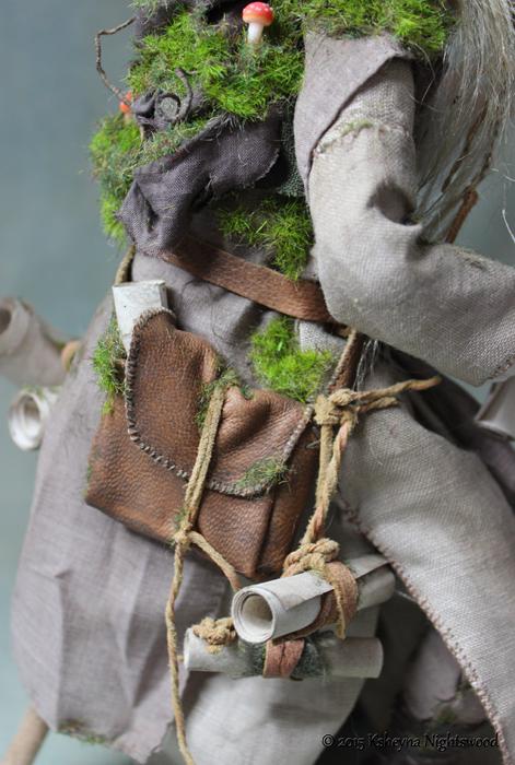 Grodwon Troll Art Doll