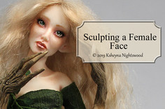 Sculpting a Female Face