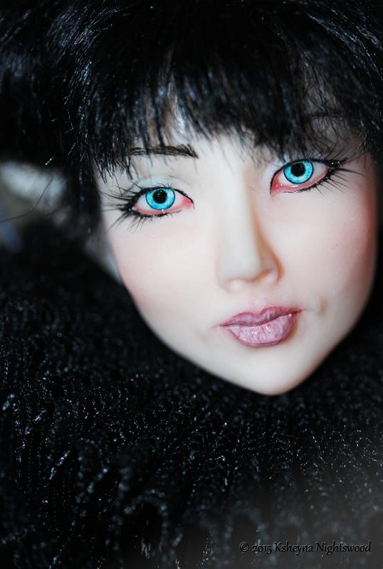Dark Fairy art doll