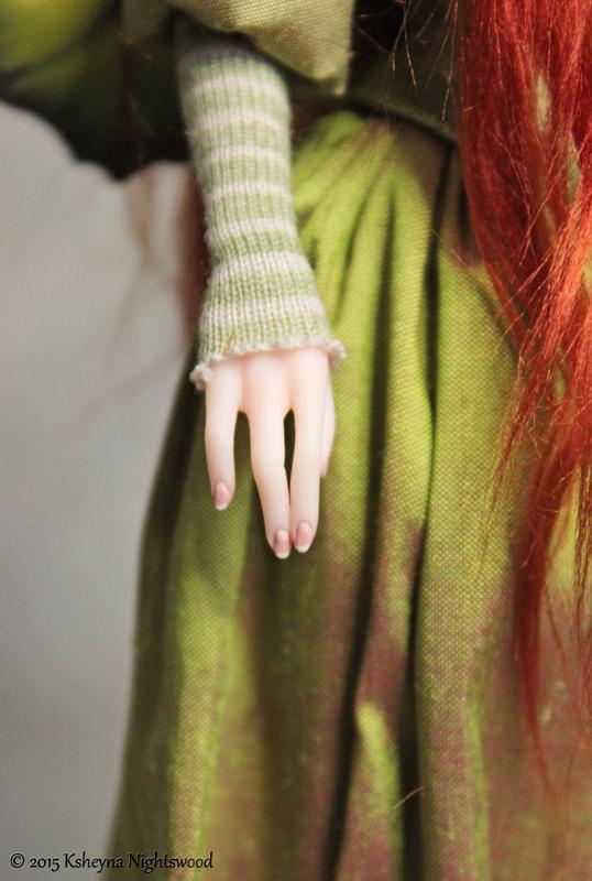 art doll fingers