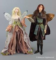 Queen Titania and King Oberon