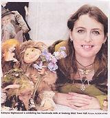 Nightswood Art Doll in Geelong Advertiser 15 June 2014