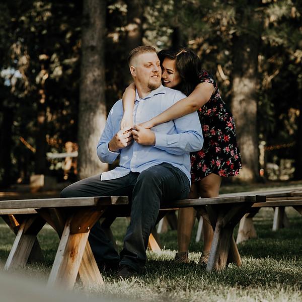 Gizelle + Josh engagement