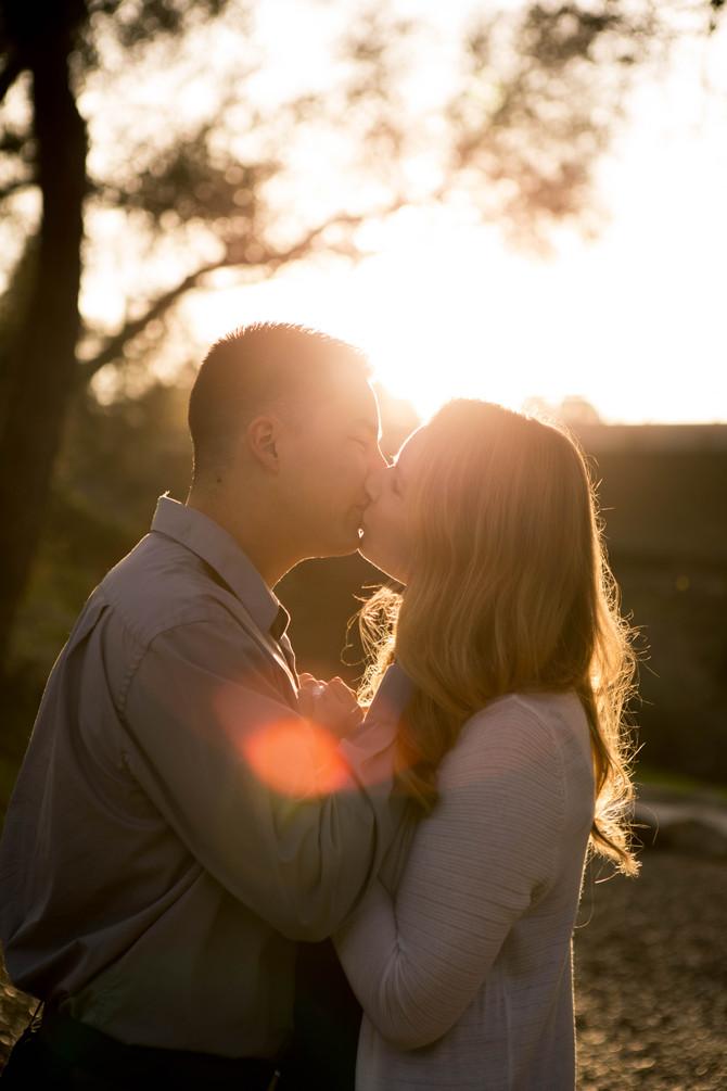 Amanda + Jonathan (Folsom Engagement)