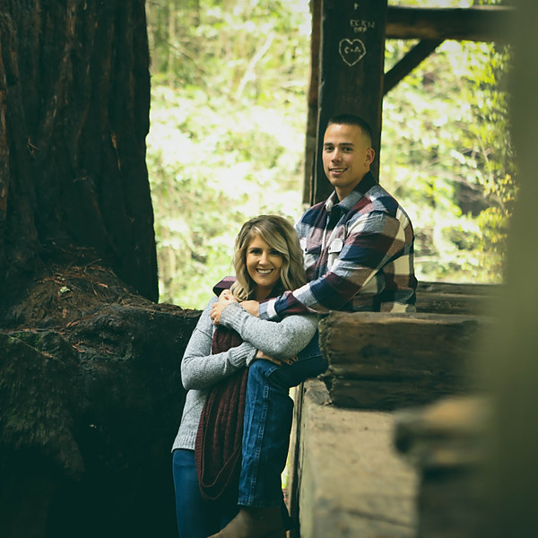 Trevor + Brittany (Mill Valley engagement