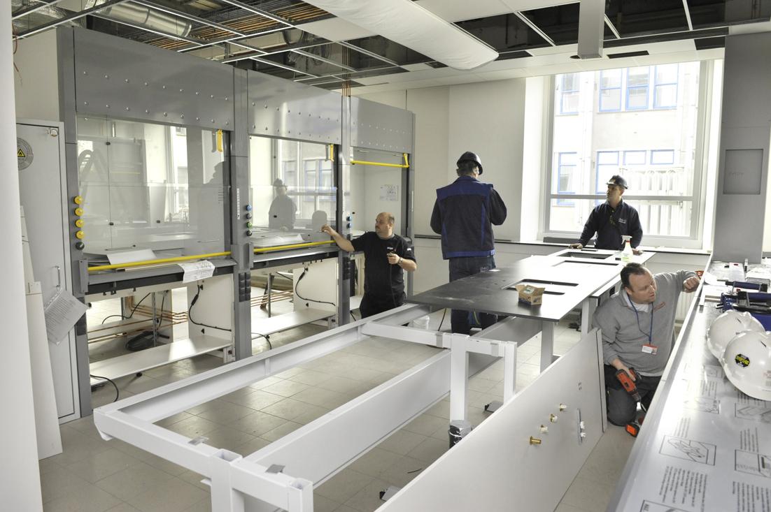 Coördinatie verbouw R&D labs