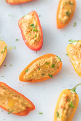 Stuffed Snacking Capsicums