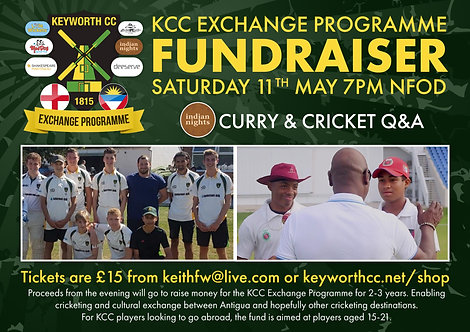 Exchange Programme Fundraiser - Adult Ticket