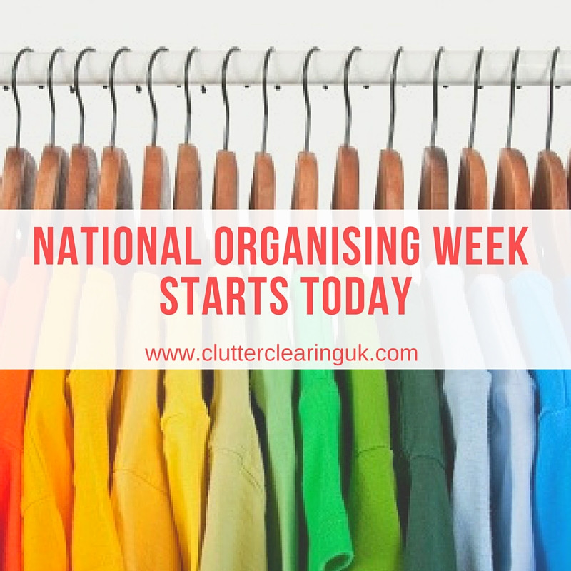 Get more organised this week