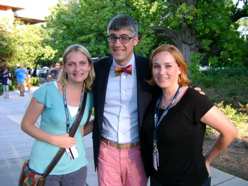 Mo Rocca at the Debate '08 in MS.