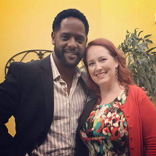 Working with Blair Underwood.