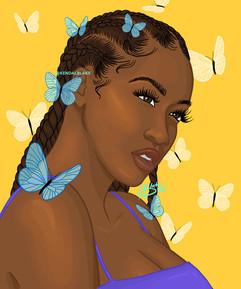 Braids and Butterflies