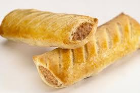Our popular sausage rolls