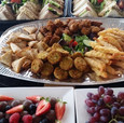 Buffet with finger fruit