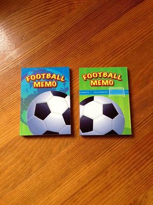 Football - memo pad