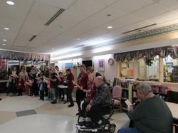 Caroling at Nursing home