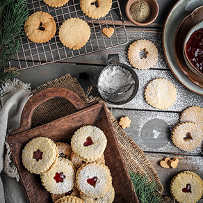 Melt in Your Mouth Gluten Free Linzer Cookies