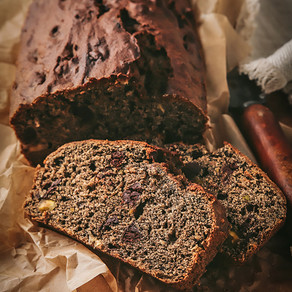 Delicious Gluten Free Buckwheat Chocolate Banana Bread