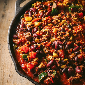 The Best Turkey Black Bean Chili Recipe with Poblano and Leeks