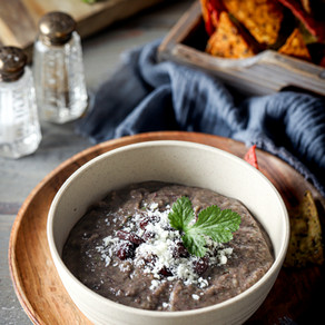 Easy and Delicious Black Bean Dip