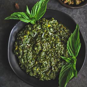 Fresh Basil Pistachio Pesto