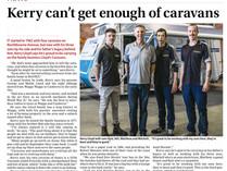 Lloyd Caravans makes the News