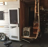 Caravan rebuild