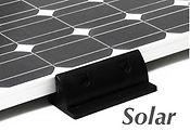 Caravan motorhome solar panel