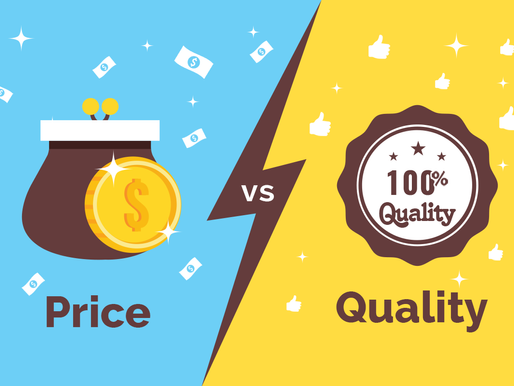Why you should compete on value, not on price