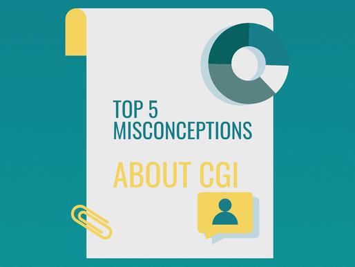 Top 5 Misconceptions regarding CGI
