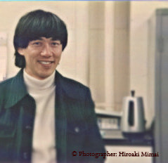 In 1979, at an instructor room of Tokyo National University of the Art