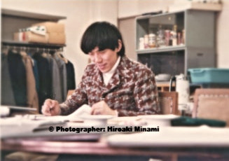 In 1980, as a markaer at Tokyo National University of the Arts