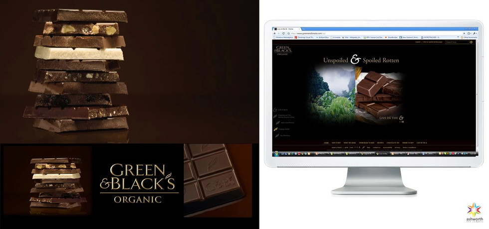 GREEN & BLACKS PHOTOGRAPHY AND BRANDED C