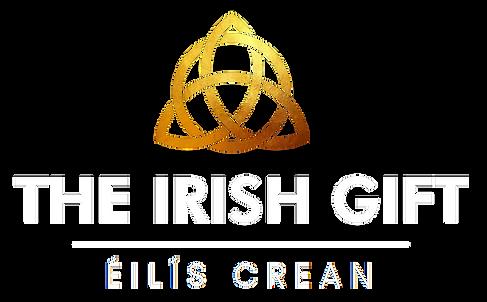 THE IRISH GIFT LOGO WHITE-GOLD trans.png