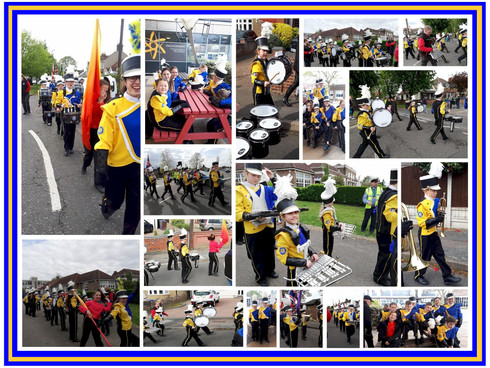 Thurrock Marching Brass lead 900 Scouts in Parade