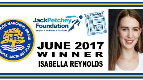 June 2017 Jack Petchey Achievement Award winner - Isabella Reynolds