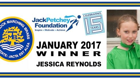 Thurrock Marching Brass Awards Jack Petchey Achievement Award