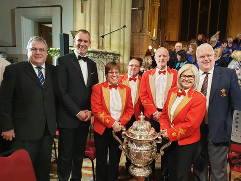 Thurrock Marching Brass in Development Partnership with the World #1 Brass Band, The Cory Band