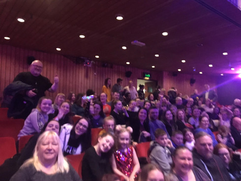 The TMB family hits the Panto