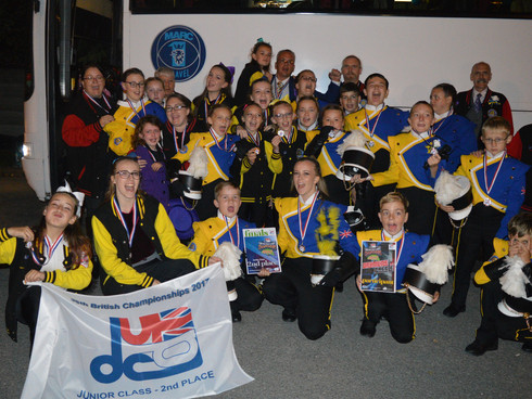 Thurrock Marching Brass competes over two days with Silver at DCUK British Championships