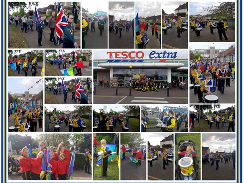 Thurrock Marching Brass is busy in the community again