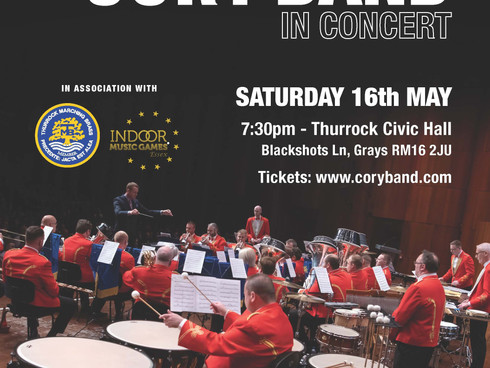 The Cory Band Concert at the Thurrock Civic Hall