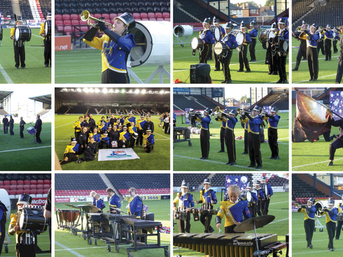 IT'S A BRITISH CHAMPIONSHIP WIN FOR THE YOUNGSTERS OF THURROCK MARCHING BRASS