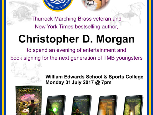 Thurrock Marching Brass to receive a special visit from Australia!