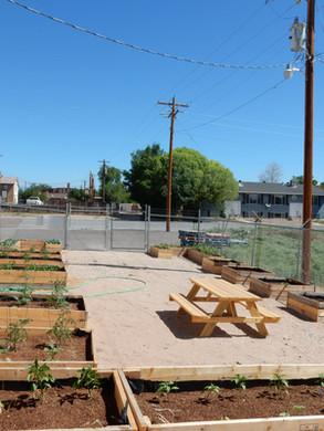 Finished Community Garden