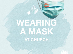 Church with a mask