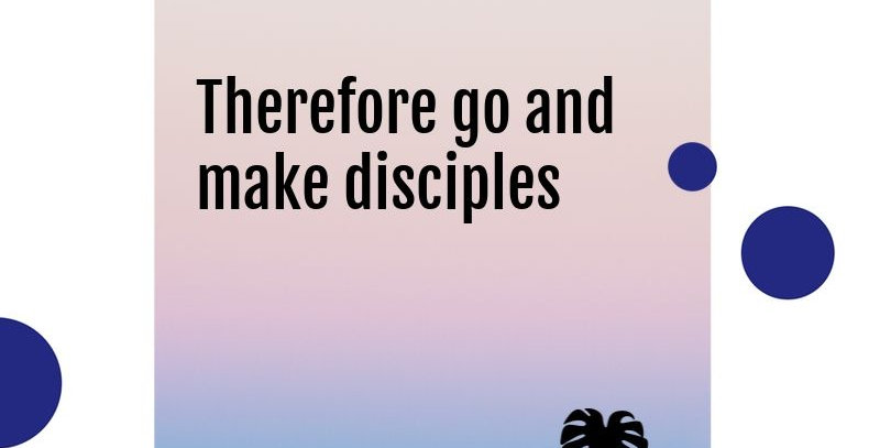 Make Disciples Poster